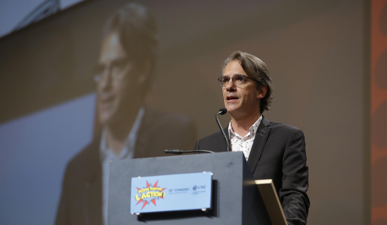 Mario Beauchemin, troisième vice-président